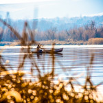 Kayaker In The Yakima Delta
