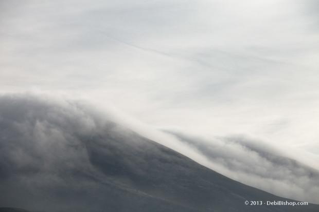 Heavy Fog Rolling Down Horse Heaven Hills