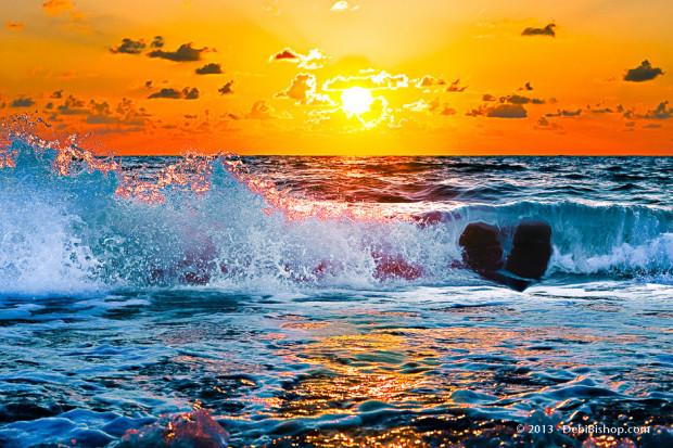 Ocean Love - Gulf Coast Sunset