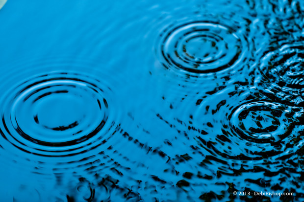Blue Ripples On Water